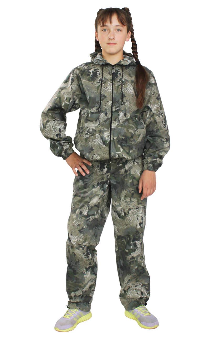женские тонкие камуфляжные костюмы