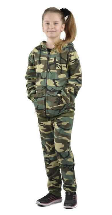 детский трикотажный камуфляжный костюм косдет106