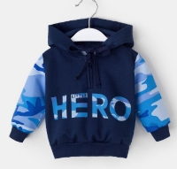 Джемпер Крошка Я Little hero HERO синий СМ-4371852