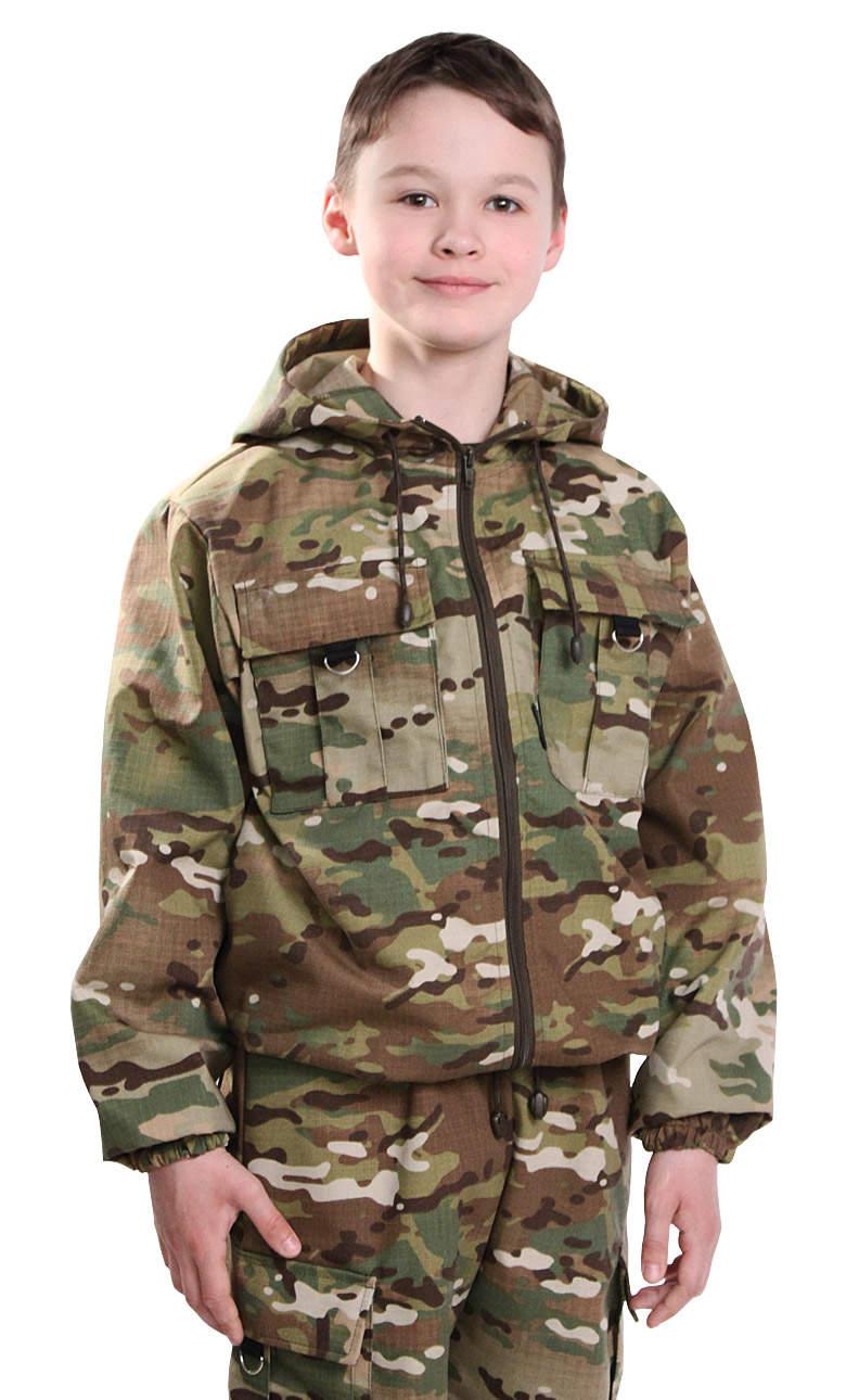 детский костюм камуфляж зарница мультикам
