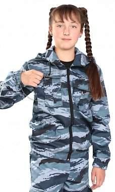 детский костюм зарница камуфляж серый камыш