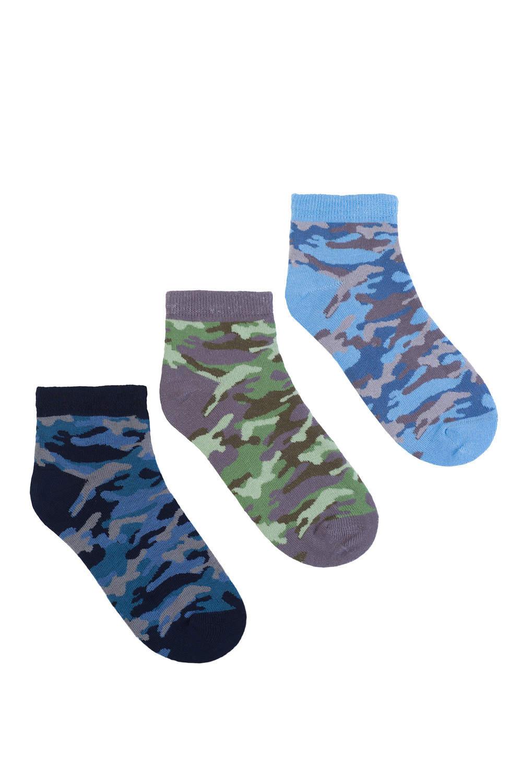 камуфляжные детские носки