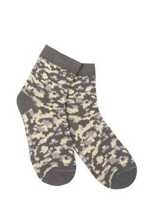 детские носки камуфляж цифра