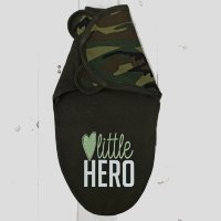 Пеленка-кокон Крошка Я Little hero рост 50-62см СМ-2821498