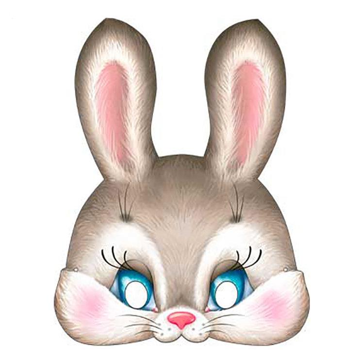 Картинка для детей голова зайца